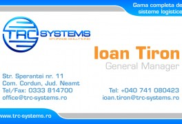 Trc Systems Business Card