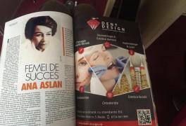 Vizual Aparitie Revista Dent Design