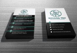 RovanaTex Business Card